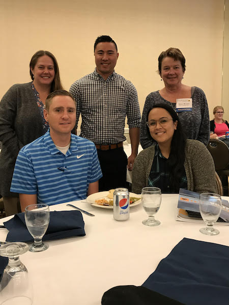 Program Directors from the Nevada Center for Excellence in Disabilities and the University of Nevada work experience sites at SOTA 2018.