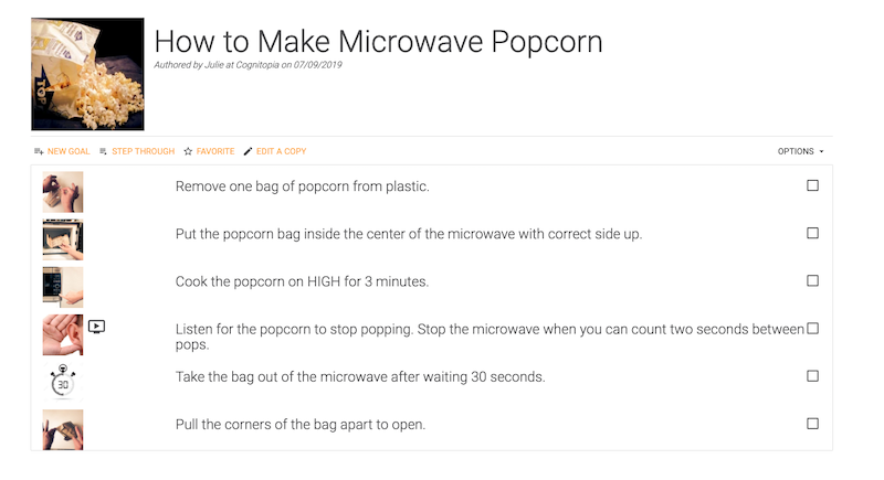 How to make microwave popcorn Routine