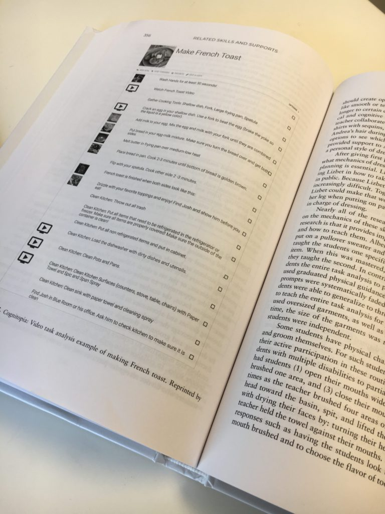 Cognitopia Goal Guide in Textbook