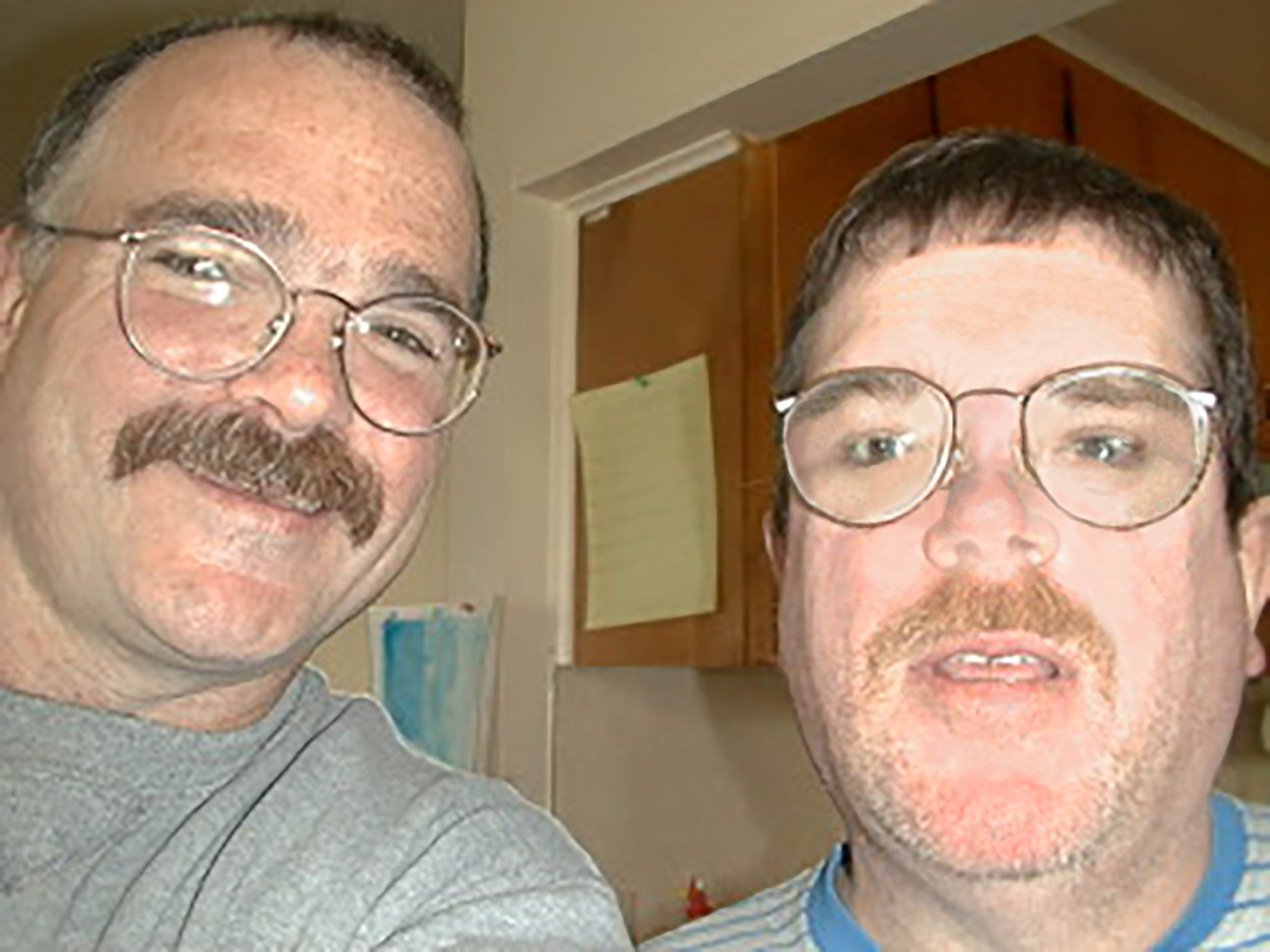 Tom and his Brother, James, who had Autism