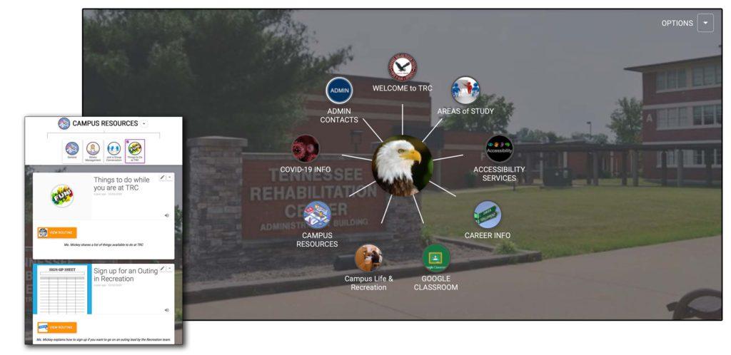 Tennessee Rehabilitation Center uses Cognitopia's digital portfolio to help students navigate community college campus