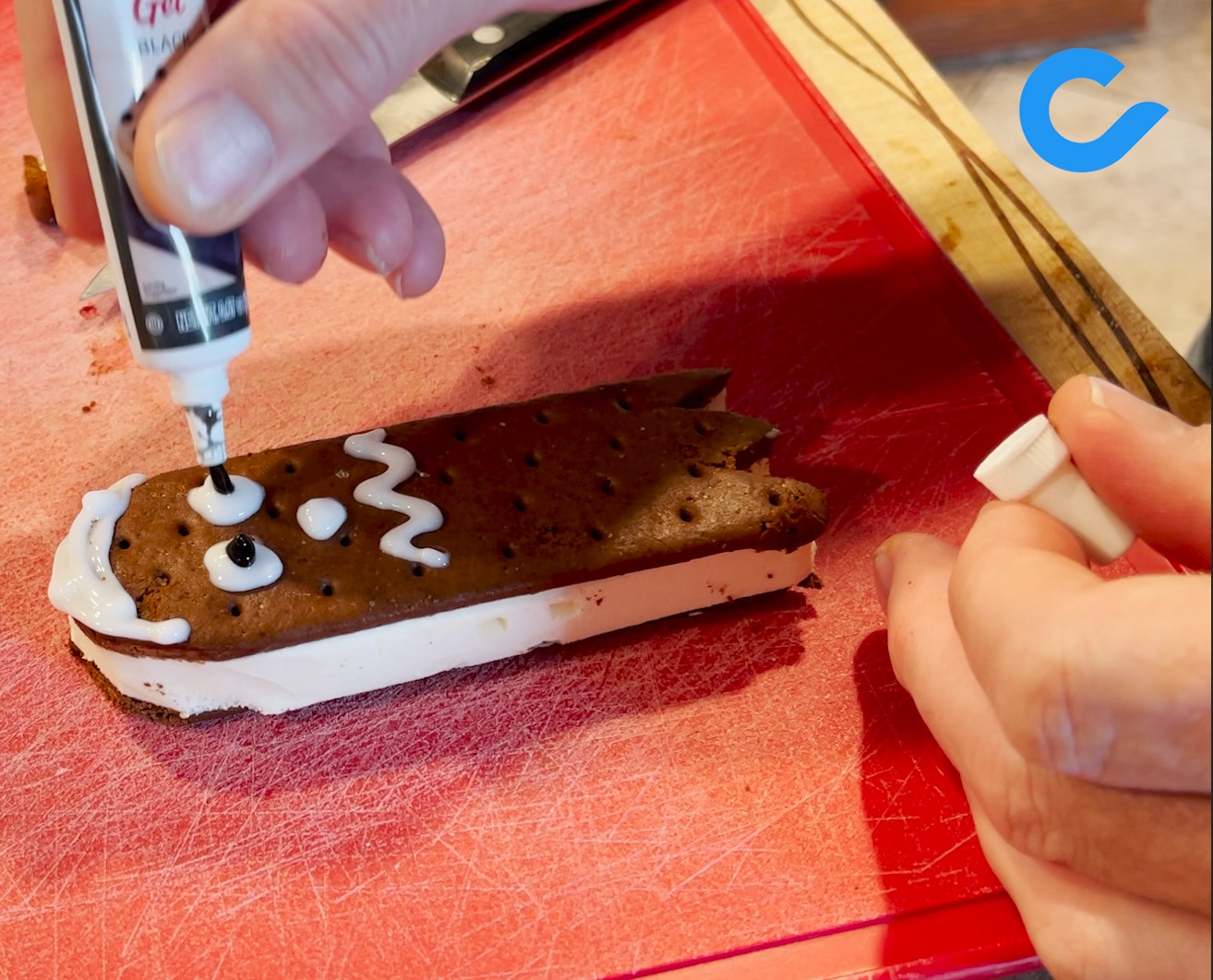"""Featured image for """"Halloween Recipe #2: Ice Cream Sandwich Ghosts"""""""